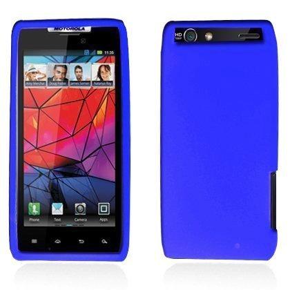 Motorola Green Transparent Faceplates (LF 4 In 1 Bundle - Silicon Skin Case Cover, Stylus Pen, Screen Protector & Wiper For Vrrizon Motorola Droid Razr 4G XT910 / XT912 (**NOT compatible with Razr MAXX) (Skin Blue))