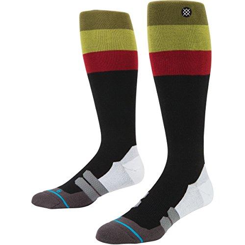 Stance Mens Rasta Moto Socks Large/X-Large Black (Moto Socks)
