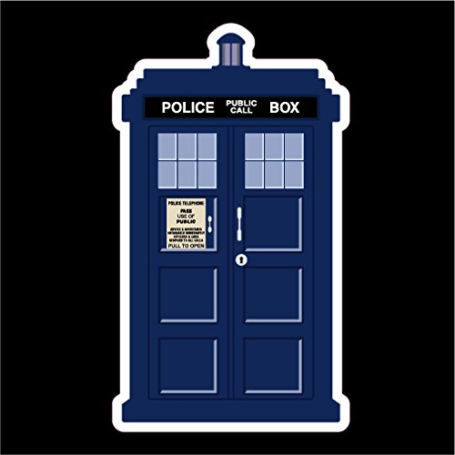 Doctor Who Tardis Vinyl Decal Sticker|Cars Trucks Vans Walls Laptops Cups|Full Color|5.5 X 3 (Dr Who Adipose Costume)