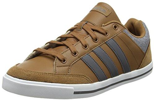 adidas Cacity, Sneaker a Collo Basso Uomo Marrone (Timber S5-st/Grey Five /Ftwr White)