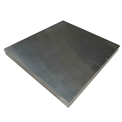 Online Metal Supply Tungsten Carbide FC3 Plate 12mm x 133mm x 141mm (.472'' x 5.2'' x 5.5'') by Online Metal Supply