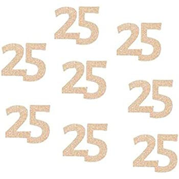 Glitter Gold//Rose Gold 60th Birthday Party Number60 Paper Cut Outs//Paper Confetti//Table Scatter Rose Gold