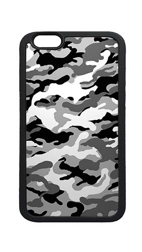 3134801bcf Image Unavailable. Image not available for. Color: iPhone 6s Case Cover, Black and White Camouflage ...