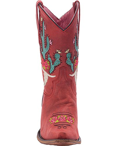 Juniper Botte Strawberry Rose Gypsy Western 6 Toe Corsair M Bramble Snip wHPRaqRx