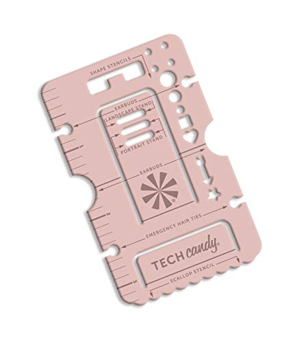- Tech Candy Handy Standy Phone Stand, Journal Stencil, Ruler, Multi-Tool, Credit Card Size