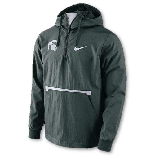 (Nike Michigan State Spartans Pullover Packable Jacket (X-Large))
