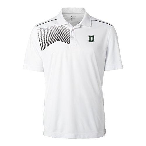 NCAA Dartmouth Big Green Men's Glen Acres Polo, White, - Dartmouth Store