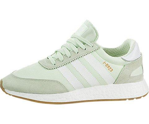 adidas Iniki Runner Womens In Aero Green/White, 9 by adidas (Image #5)