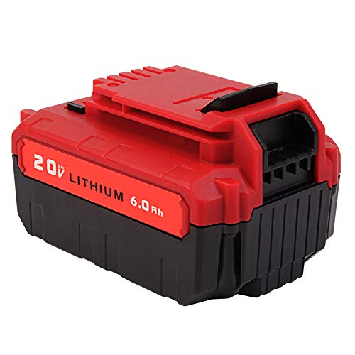 VANON 20V Max 6.0Ah Lithium Replacement Battery for Porter Cable PCC685L PCC680L Cordless Tools Batteries by VANON