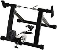Soozier 5 Levels Adjusted Resistance Magnetic Bike Trainer Indoor Exercise Bicycle Stand