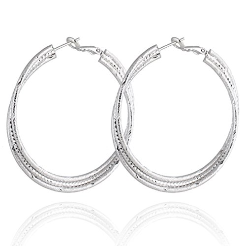 Design Omega Back Earrings - 4