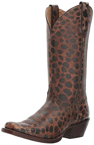 Ariat Women's Western Wildcat Work Boot, Naturally Distressed Leopard Patent, 7.5 B US by Ariat