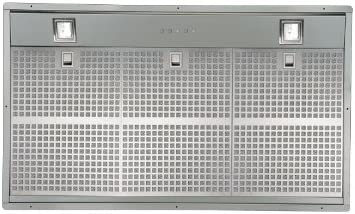 Pando BGF S.E.C. System 1050 m³/h Encastrada Acero inoxidable - Campana (1050 m³/h, Canalizado, 32 dB, 59 dB, Encastrada, Acero inoxidable): Amazon.es: Hogar