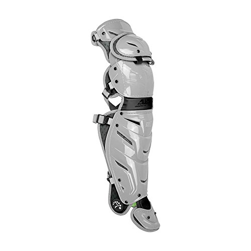 All-Star Adult System 7 Axis Catcher's Leg Guards - Single Knee Catchers Leg Guards