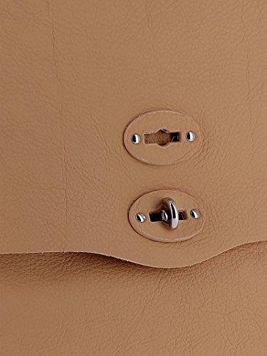 Leder Handtaschen Beige 6134P6V2 Zanellato Damen nUfYztP