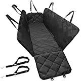 Gold Armour Dog Seat Cover for Back Seat (Back Seat, Black)
