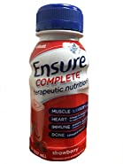 Ensure Complete (Formerly Clinical Strength) Strawberry 24/8-Fl-Oz-Bottle - 1 Case Of 24