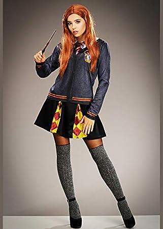 Magic Box Disfraz de Gryffindor Estampado Estilo Ginny Weasley ...