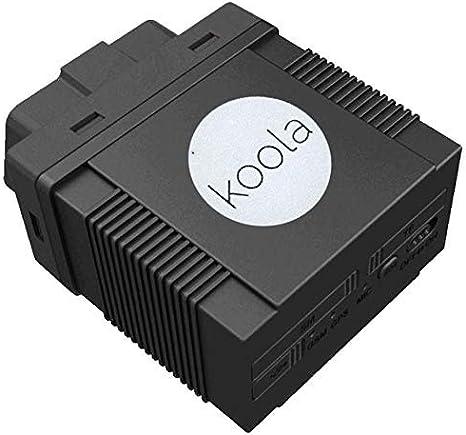 TK306a GPS Tracker para Coches en Puerto OBD 2, GPRS Control Remoto en Tiempo Real a través de Android App/iOS
