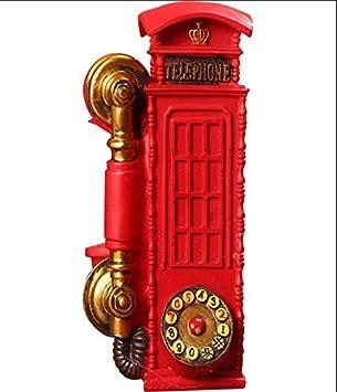 Tobbrt Retro Photo Telefonzelle Wohnaccessoires Zubehor Requisiten