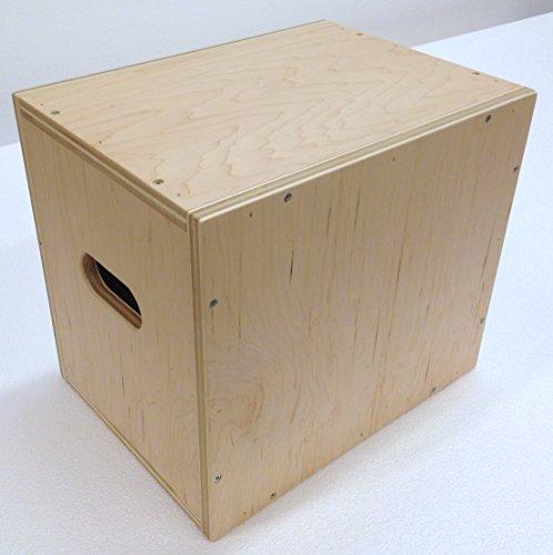 3 in 1 Plyometric Box: 12''x14''x16'' Flatpack by The Plyobox Warehouse