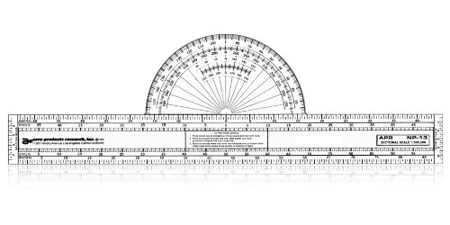 Course Protractor (13 Navigation Plotter by APR)