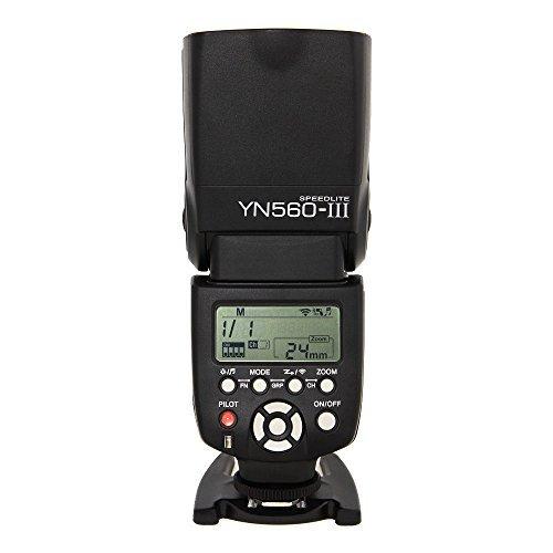Yongnuo flash yongnuo 560 iii YN560III yn 560 iii Wireless flash speedlite for cannon camera Nikon Pentax DSLR camera+ Two Free OOPSTEK Cleaning Cloths For Camera lenses nikon lenses camera glasses by Yongnuo