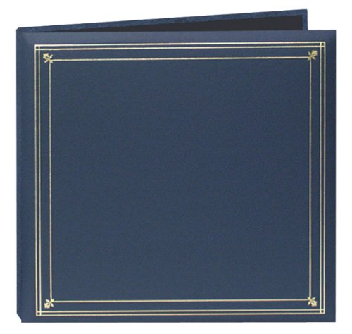 Pioneer Photo Albums 204-Pocket Post Bound Leatherette Cover Photo Album for 4 by 6-Inch Prints, Bay (Adorama Photo Prints)