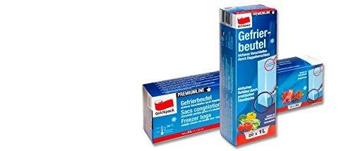 Premium bolsas para Congelar 10-pc con el Stand-Up 3L con el Stand ...