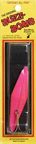 """Buzz Bomb Deadly Sonic Lure (Extra Heavy), 3"""", Hot Pink"""