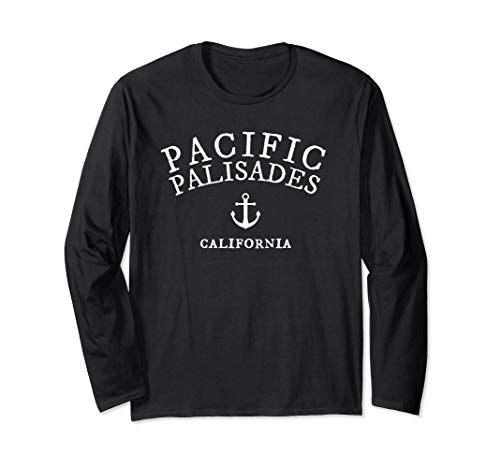 Used, Pacific Palisades California  Long Sleeve T-Shirt for sale  Delivered anywhere in USA