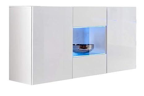 La Credenza Muebles : Muebles bonitos credenza sospesa moderna design varedo bianco