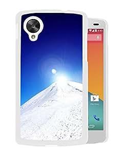 Snowy Mountain Sunrise (2) Google Nexus 5 Phone Case On Sale