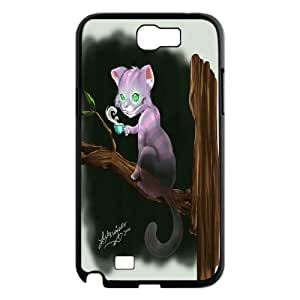 JenneySt Phone CaseAlice and Cheshire Cat Pattern For Samsung Galaxy Note 2 Case -CASE-7