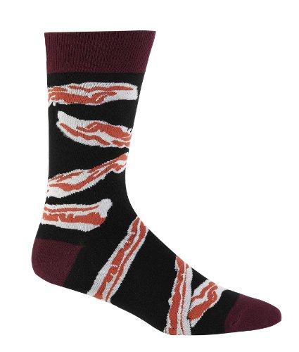 Sock It To Me Men's Crew Socks,Black,One Size