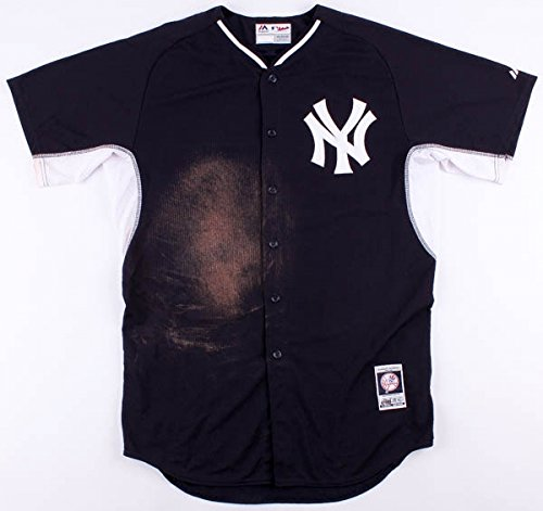 - CHASE HEADLEY SIGNED N.Y. YANKEES 2015 GAME ISSUED USED BATTING PRACTICE JERSEY