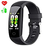 Yacikos Fitness Tracker,Colour Screen Fitness Watch Activity Tracker with Blood Pressure,Heart Rate Monitor