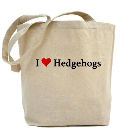 I Love Hedgehogs Tote bag by Cafepress