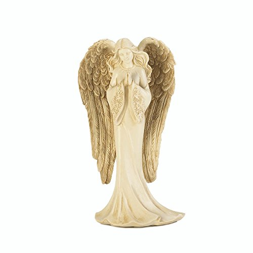 Figure Praying Angel - Koehler 10017924 8 Inch Praying Angel Statue Figurine