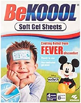 Be Koool Be Koool Soft Gel Sheets For Kids Pack of 3
