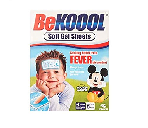Be Koool Be Koool Soft Gel Sheets For Kids Pack of 3 Be Koool Gel Sheets