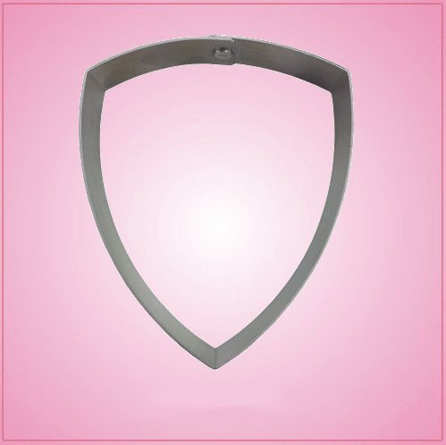 Highway Patrol Shield Cookie Cutter 4?inches tall, just over 3-1/4 inches wide aluminum (Shield Cookie Cutter)