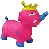 Ngel Inflatable Bouncer Elephant Animal Toy for Kids (with Pump Free)