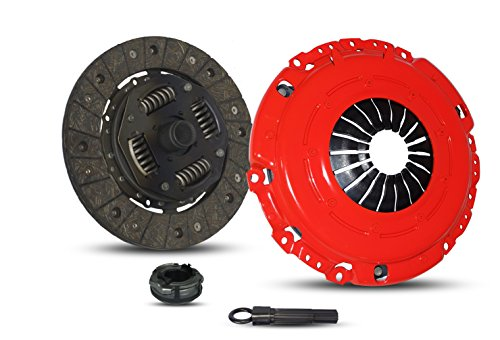 Clutch Kit Works With Vw Golf Gti Jetta Glx Passat Corrado SLC GLX MV GL GTI VR6 CAMPER VAN CL 1992-2002 2.5L l5 2.8L V6 GAS SOHC Naturally Aspirated (Stage - Passat Vr6 Glx
