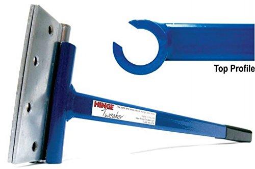 Hinge Tweaker Heavy Weight Size for .180 Gauge Commercial Door Hinge Adjustment Tool/Hinge Bender