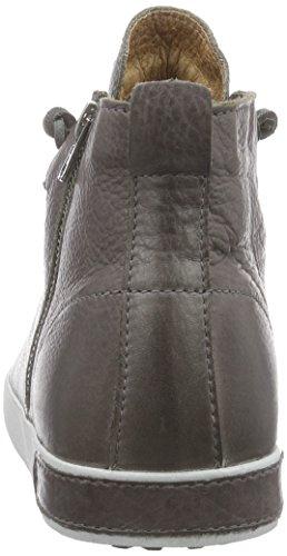 Blackstone KM99. Herren Hohe Sneakers Grau (Charcoal)