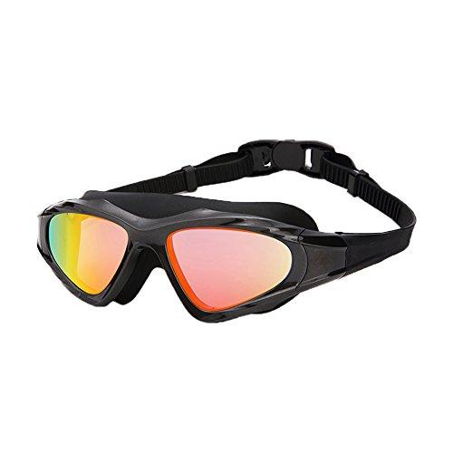 Negro Natación Antivaho De HD Impermeable Multicolor Gafas E Espejo Plano Unisex Opcional QY 1 p7xqH1w