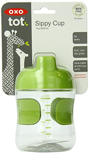 OXO Sippy Leakproof Valve Green