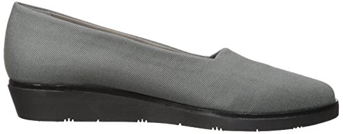 Aerosoles Womens Sideways Flat Grey Fabric 0WovX