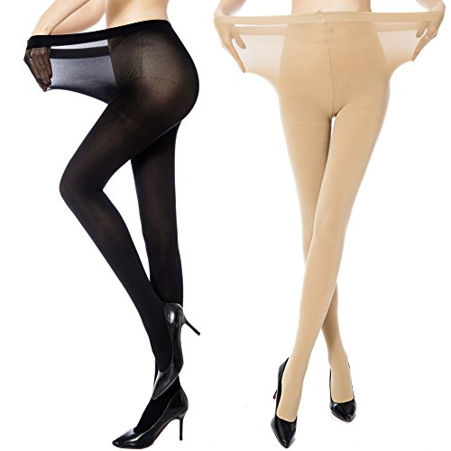 d2341d3b29b60 MANZI Womens Control Ultra Soft Tights product image. Score: 8.4. Price:  $$. MANZI Women's 2 Pairs Plus Size ...
